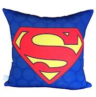 Divina Diseños  Cojín Decorativo Super Héroe Supermán